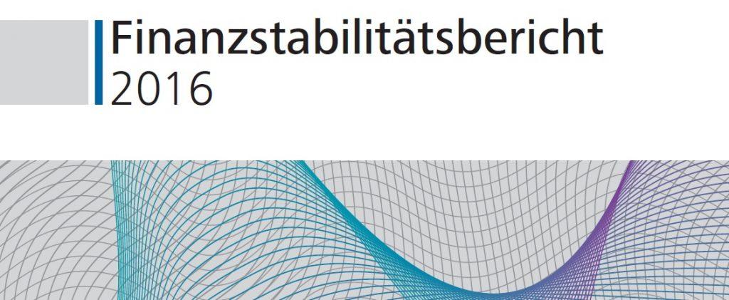 Finanzstabilitätsbericht 2016